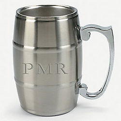 Personalized Keg Style Beer Mug
