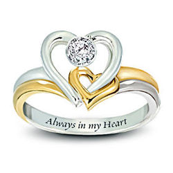 Always In My Heart Diamond Ring