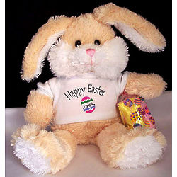 Personalized Happy Easter Bunny