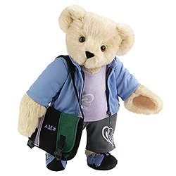 "15"" Always on the Go Teddy Bear"