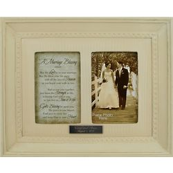 Vintage Wedding Photo Frame