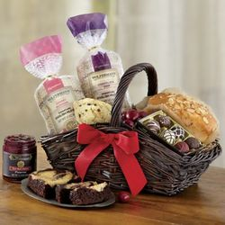 Chocolate Cherry and Pastries Gift Basket