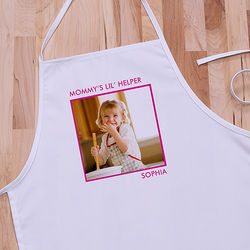 Picture Perfect One Photo Kid's Personalized Apron