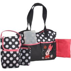 Minnie Mouse Ladybug Spots 5-Piece Diaper Tote Set