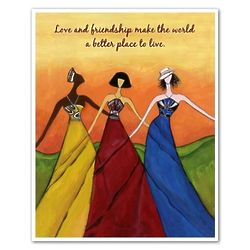Love Each Other Personalized Art Print