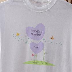 New Grandma Personalized T-Shirt