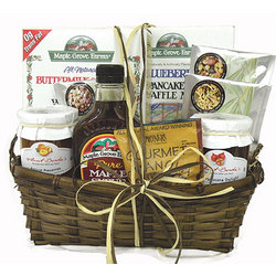 Pancakes and Waffles Gift Basket
