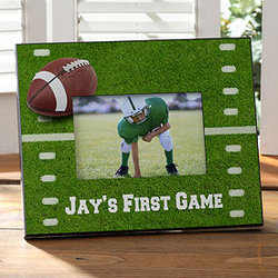 Touchdown! Personalized Football Frame