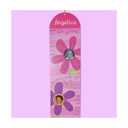 Personalized Printed Flower Growth Chart