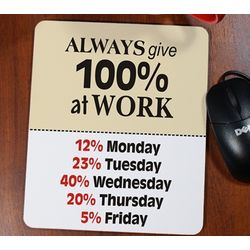 """Always Give"" Mousepad"