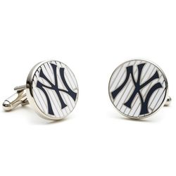 Yankees Pinstripe Cufflinks