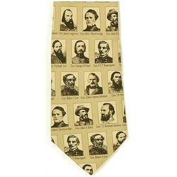 Confederate Generals Neck Tie