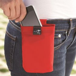 Medium Red Pocket Plus Pouch