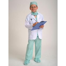 Jr Physician Costume in Green
