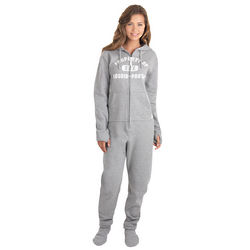 Gray Varsity Hoodie-Footieao for Women