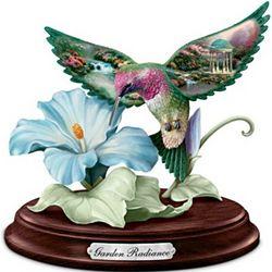 Garden Radiance Hummingbird Sculpture