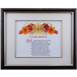 House Blessing Framed Print