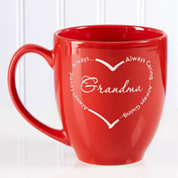 Always Loved Personalized Bistro Mug