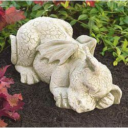 Sleeping Dragon Garden Statue