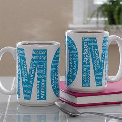 Mom or Nana's Personalized Coffee Mug