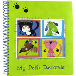 My Pet's Records Keeper Binder