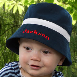 Personalized Baby Boy Bucket Hat