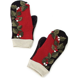 Recycled Holiday Sweater Mittens