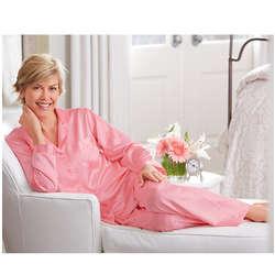 Women's Silky Satin Pajamas