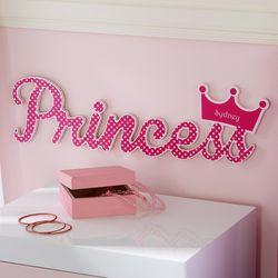 Personalized Royal Princess Plaque