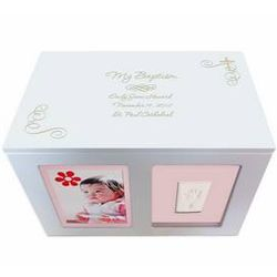 Personalized Baby Baptism Memory Box