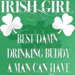 Irish Girl Women's Fitted T-Shirt