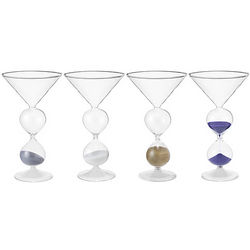 Martini Hourglass Set