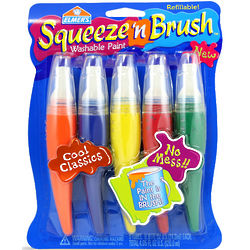 Squeeze 'n' Brush Washable Paint