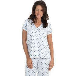 Posh Spots Cotton Terry Pajamas