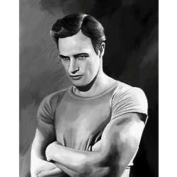 Marlon Brando Limited Editions Fine Art Print