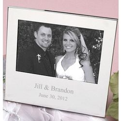 Personalized Silver Plated Frame