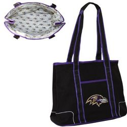 NFL Team Logo Hampton Tote Bag