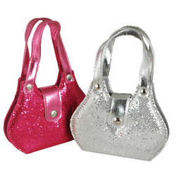 Sequined Manicure Purse Set