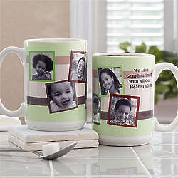 Any Message Photo Collage Personalized Mug