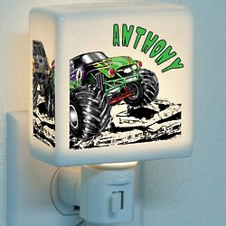 Monster Jam Grave Digger Demolition Nightlight