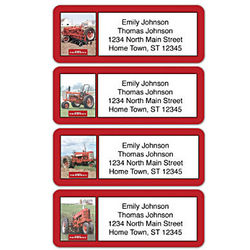 Personalized Address labels with Classic Farmall Tractors
