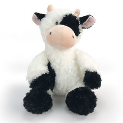 Tubbie Wubbies Cow Stuffed Animal