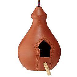 Terracotta Bird Palace