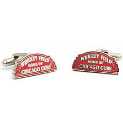 Wrigley Field Cufflinks