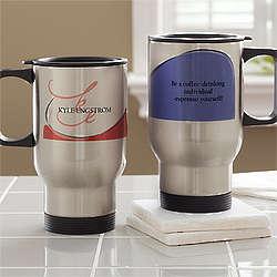My Monogram Personalized Travel Mug