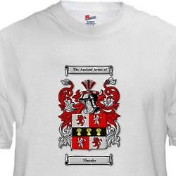 Personalized Irish Coat of Arms T-Shirt