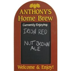 Personalized Home Brew Chalkboard Sign