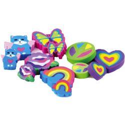 Lisa Frank Rainbow Dreams Erasers