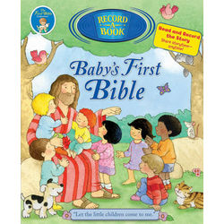 Record Your Voice Baby's First Bible