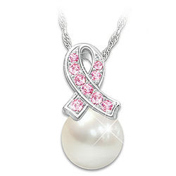 Beauty of Hope Breast Cancer Awareness Pendant